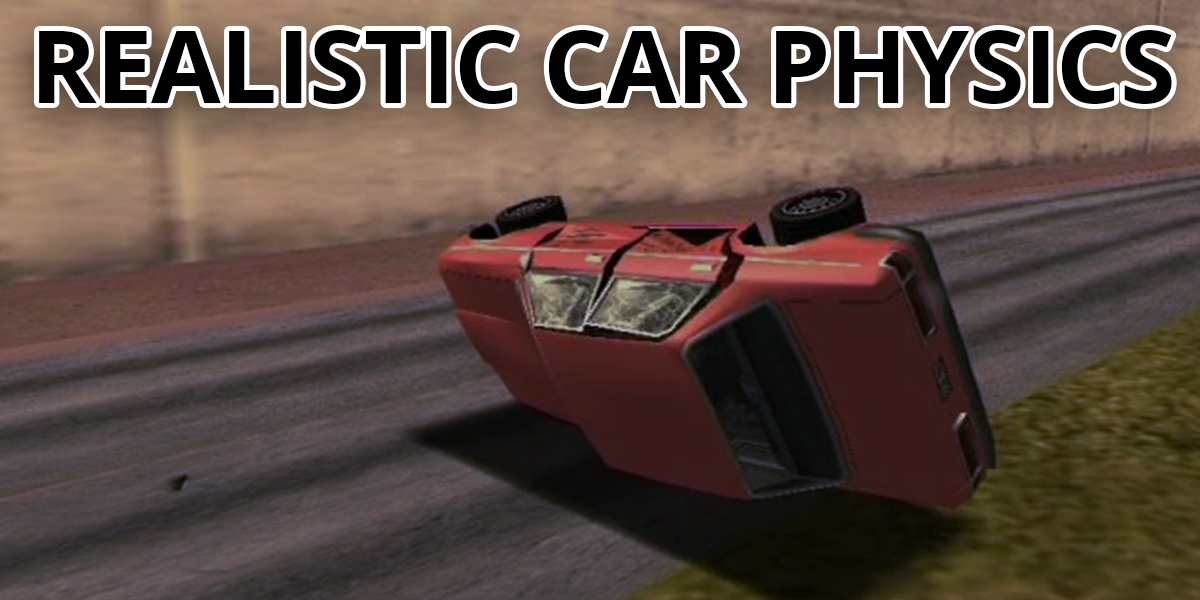 Realistic Car Crash Physics mod
