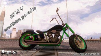 GTA V Western Zombie